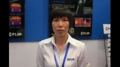 前视红外热像系统市场经理刘鸣宇女士产品介绍
