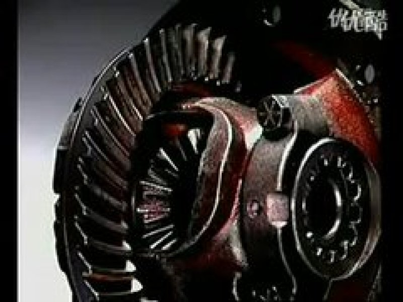 后轮驱动差速器(对称式锥齿轮差速器)